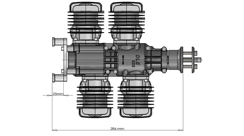 DLE222安装尺寸