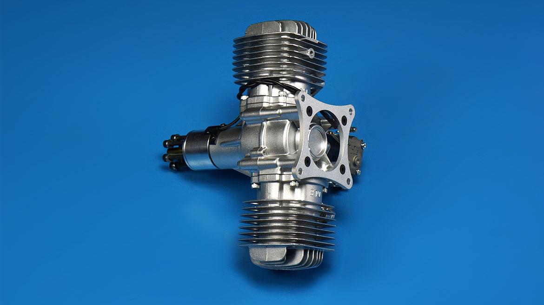 DLE120航模汽油发动机 双缸自然风冷主机