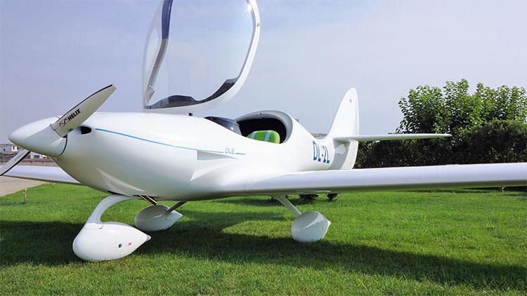 DL-2L DLE公司的生产的两座飞机!